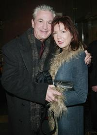 Marco St. John and his wife at the New York premiere of