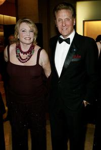 Robert Stack and his wife Rosemarie at the the United States Veterans Gala.