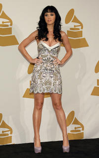Katy Perry at the GRAMMY Nominations Concert Live.