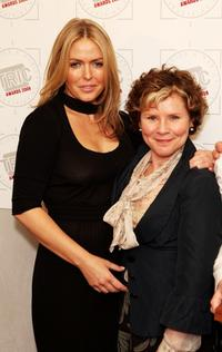 Imelda Staunton and Patsy Kensit at the Television And Radio Industries Club Ceremony 2008.