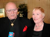 Rod Steiger and his wife, actress Joan Benedict at the 28th Annual Vision Awards.