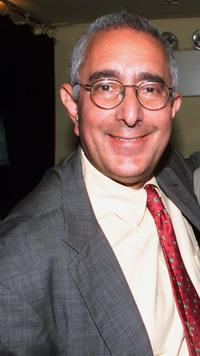 Ben Stein at the private concert for the launch of iBeam's internet wide deployment of its digital media network.