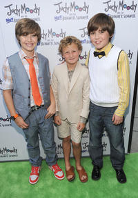 Garrett Ryan, Parris Mosteller and Preston Bailey at the California premiere of