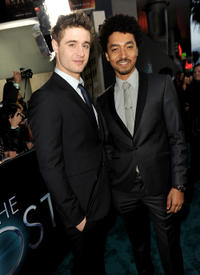Max Irons and Shawn Carter Peterson at the California premiere of