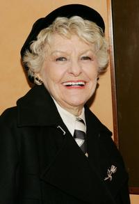Elaine Stritch at the HBO premiere of