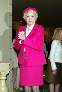 Elaine Stritch at the American Theater Wing luncheon honoring Isabelle Stevenson.