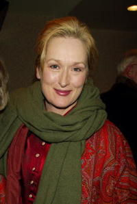 """Meryl Streep at a tribute and special screening of """"Saturday Night and Sunday Morning"""" in New York City."""