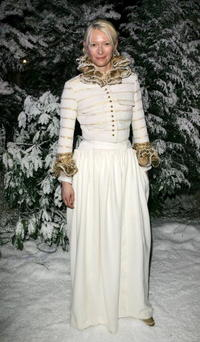 "Tilda Swinton at the after show party following the premiere of ""The Chronicles Of Narnia"" in London, England."