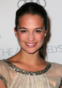 Alicia Vikander at the Art of Elysium's 6th Annual Black-Tie Gala