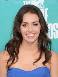 Kathryn McCormick at the 2012 MTV Movie Awards in California.