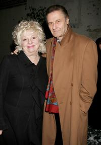 Renee Taylor and Joe Bologna at the opening night performance of