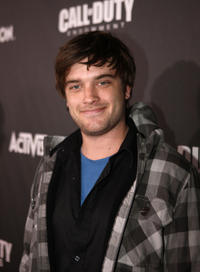 Chase Williamson at the Call Of Duty: Black Ops Launch party in California.