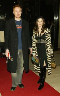 David Thewlis at the performance of Dralion by Cirque Du Soleil.
