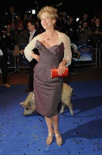 Emma Thompson at the London premiere of