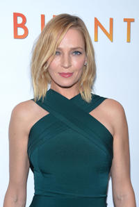 Uma Thurman at the New York premiere of
