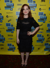 Jane Levy at the premiere of