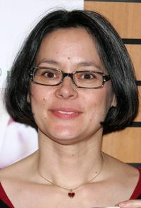 Meg Tilly at the signing of her book