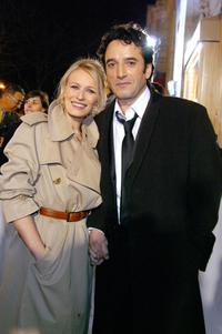 Sophie Broustal and Bruno Todeschini at the 29th Nuit des Cesars.