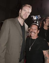Tyler Mane and Danny Trejo at the premiere of