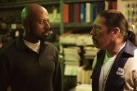 Romany Malco as Virgil and Danny Trejo as Bismark in