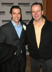 Adam Trese and Robert Clohessy at the premiere of