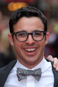 Simon Bird at the world premiere of