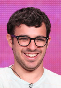 Simon Bird at the press conference of