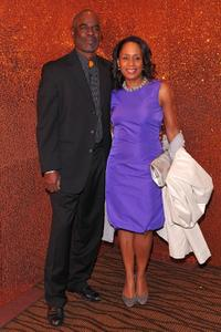Glynn E. Turman and Joann Allen at the HBO's Post Golden Globe Awards party.