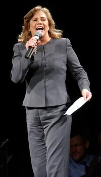 Kathleen Turner at the Senator Kerry's fund raiser Campaign In New York.