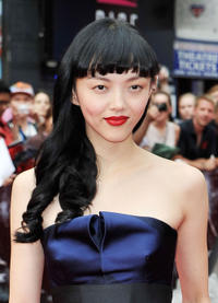 Rila Fukushima at the UK premiere of