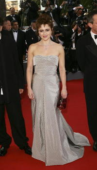 "Helena Bonham Carter at ""The Da Vinci Code"" premiere in Cannes, France."