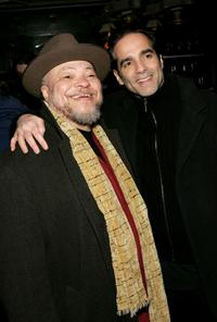 Steven McKinley Henderson and Yul Vazquez at the opening night of