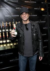 Yul Vazquez at the Luxury Lounge in honor of the 2008 SAG Awards.