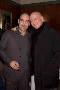 John Ventimiglia and Dominic Chianese at the backstage during