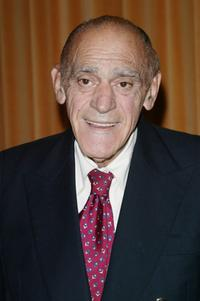 Abe Vigoda at the 63rd Annual Motion Picture Club Awards Luncheon.