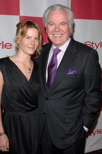 Robert Wagner and daughter Courtney Wagner at the in Style party celebrating the publication of Joyce Ostin's book