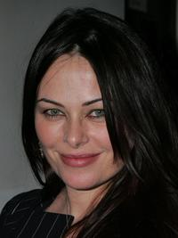 Polly Walker at the Annual Pre-Golden Globe Reception.