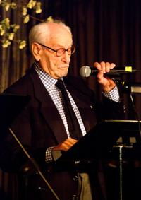 Eli Wallach at the Symphony Spaces annual Spring Gala.
