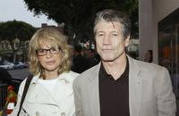 Fred Ward and his wife Marie France at the premiere of