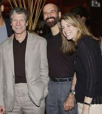 Fred Ward, Stephen Bulka and Jennifer O'Connell at the after party of the premiere of
