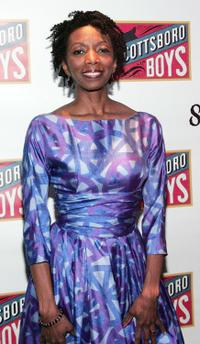 Sharon Washington at the after party of the Broadway opening night of