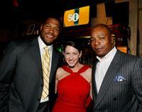 Michael Straham, Joely Fisher and Carl Weathers at the Fox's Upfront presentation.