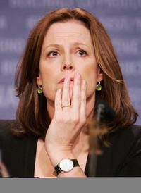 Sigourney Weaver at the 56th Berlin International Film Festival for the press conference for