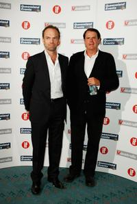 Hugo Weaving and Guest at the Inside Film Awards (IF).