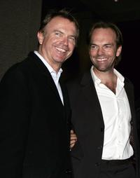 Hugo Weaving and Sam Neill at the red carpet premiere of