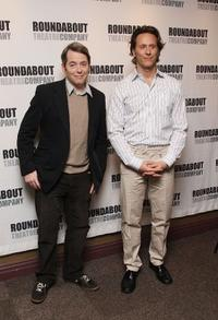 Matthew Broderick and Steven Weber at the photocall of