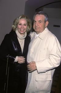 Tom Bosley and his wife Patricia Carr at the cabaret opening of