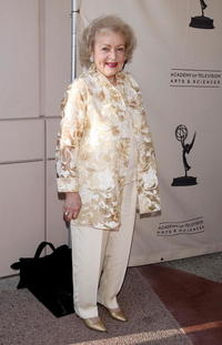 Betty White at the Academy of Television Arts and Sciences celebrating Betty White's 60 years on television.