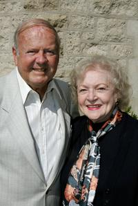Betty White and Dick Van Patten at the Wildlife WayStation's Safari Brunch.