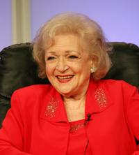 Betty White at the 2007 Summer TCA Tour.